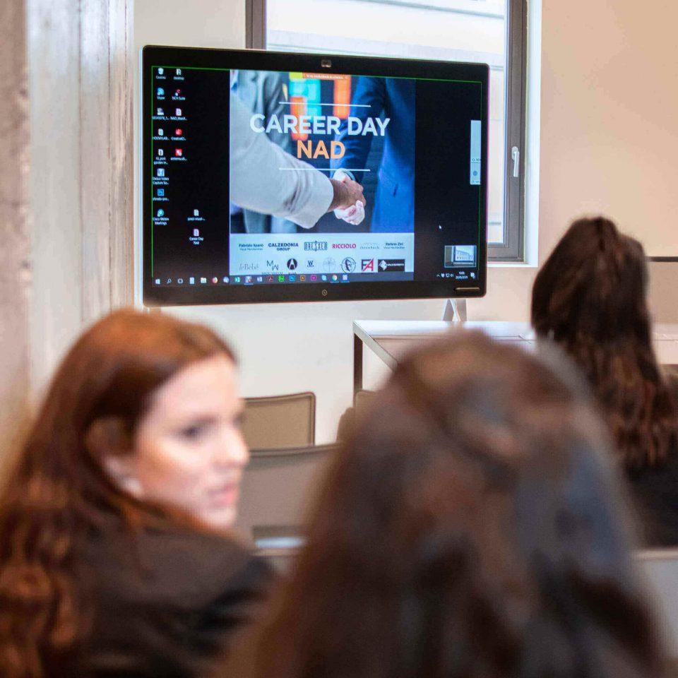 Career Day Nad Giovani incontro aziende in NadNuova Accademia del Design Verona