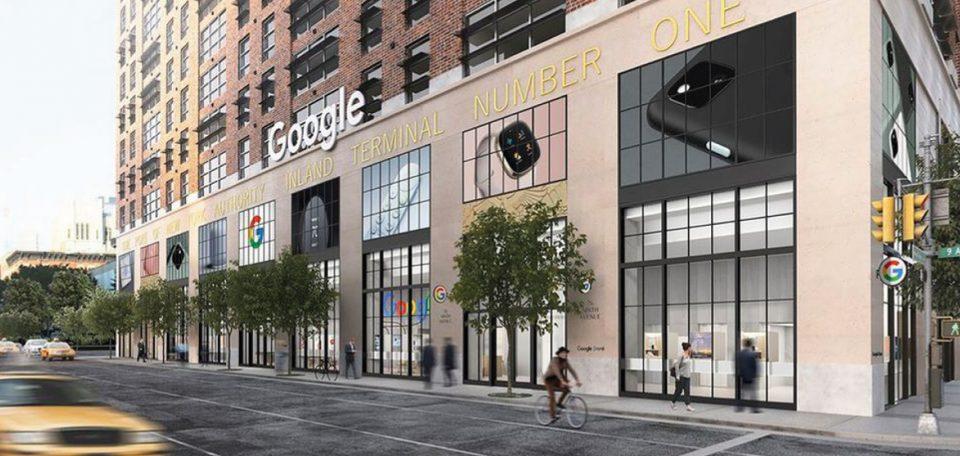 primo negozio fisico di google a new york